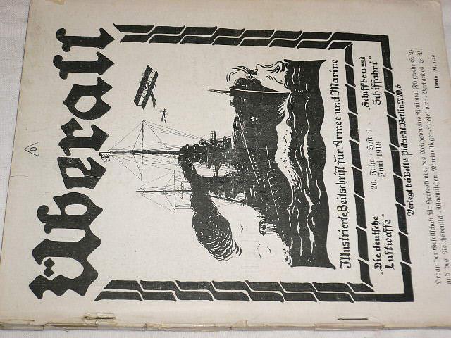 Überall - Heft 9 - časopis - 1918