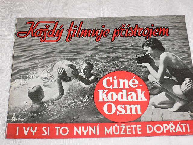 Kodak - Každý filmuje přístrojem Cine - Kodak Osm - prospekt