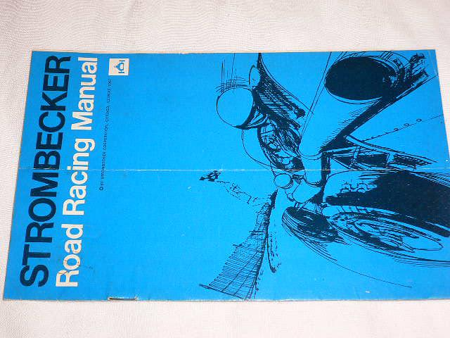 Strombecker - Road Racing Manual - 1967