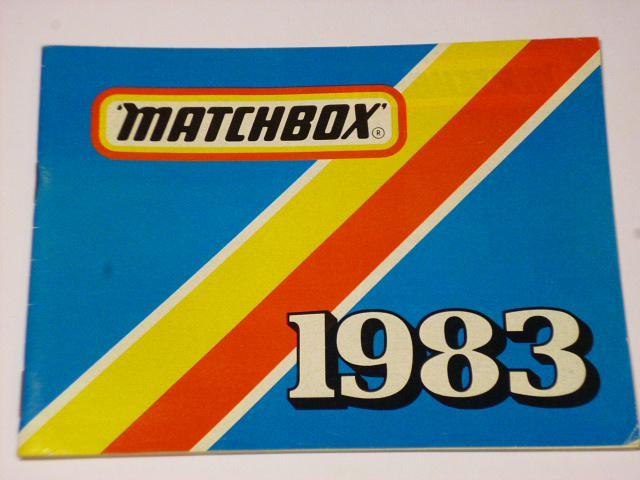 Matchbox 1983 - katalog - prospekt