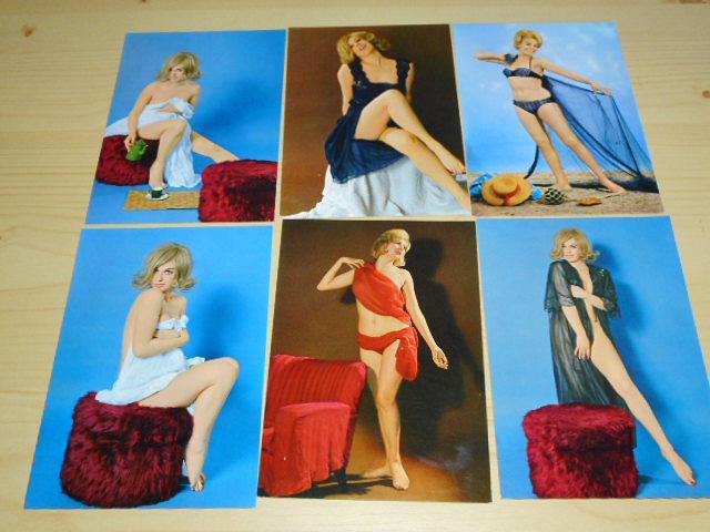Akty - ženy - 14 pohlednic