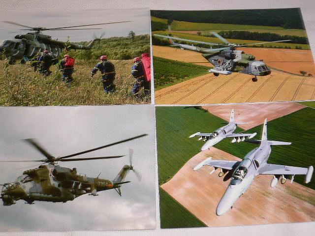Vrtulník Mi 17, Mi 24 V, Mi 171 Š, letoun L-159 A