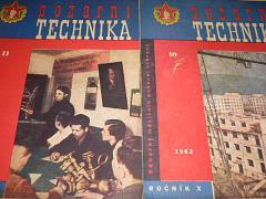 Požární technika - Odborný měsíčník požární techniky - 1962