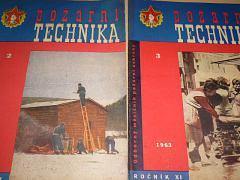 Požární technika - Odborný měsíčník požární techniky - 1963