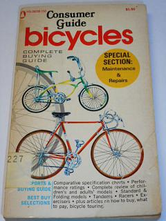 Consumer Guide bicycles - 1972