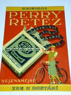 Perry řetěz - reklama - plakát na sklo