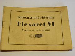 Meopta - fotografický přístroj Flexaret VI - popis a návod