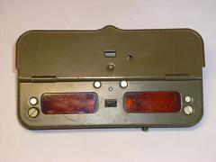 Zadní odstupové světlo tzv. Notek používaný na technice ČSLA