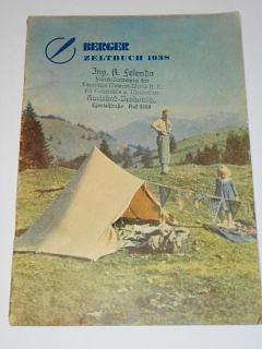 Berger Zeltbuch 1938 - stany, obytné přívěsy, nádobí...