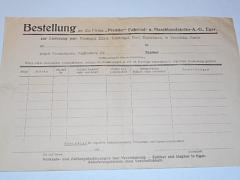 Premier - kočárky - objednávka - Bestellung