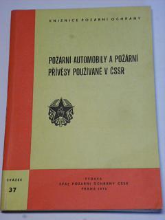 Požární automobily a požární přívěsy používané v ČSSR