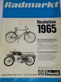 Radmarkt - časopis - 9/1964