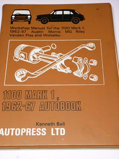 1100 Mark I 1962-67 Autobook - Kenneth Ball - 1972