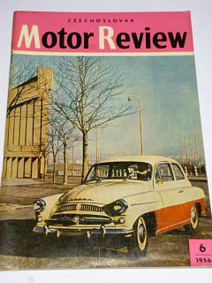 Czechoslovak Motor Review - 1956 - Škoda, Tatra...