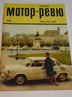 Československá motor - revue - 3/1965 - Škoda, Manet...