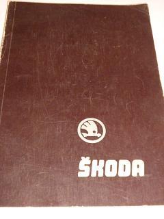 Škoda 100, 100 L, 110 L, 110 LS - dílenská příručka - 1971