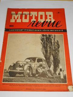 Motor Revue - 1941 - ročník XX., číslo 404