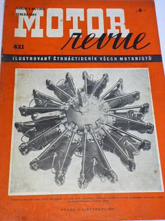 Motor Revue - 1941 - ročník XXI., číslo 421