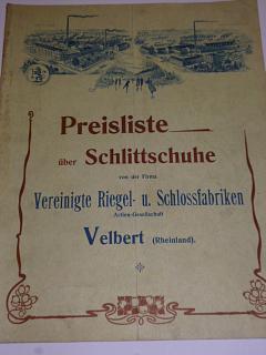 Preisliste über Schlittschuhe - brusle - prospekt