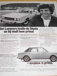 Jan Lammers testte de Skoda en hij vindt hem prima! plakát