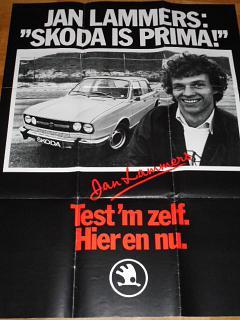 Jan Lammers: Skoda is prima! plakát