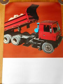 Tatra 815 - plakát