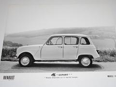 Renault 4 L export - fotografie - 1965