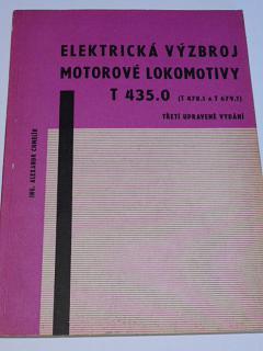 Elektrická výzbroj motorové lokomotivy T 435.0 - Alexandr Chmelík - 1971