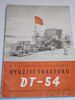 Využití traktoru DT-54 - G. V. Veděnjapin, A. M. Gurevič - 1955