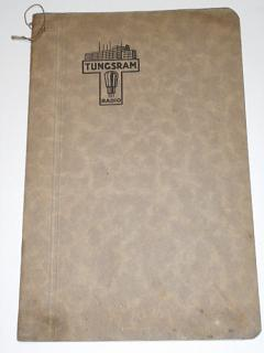 Tungsram Radio - osazovací tabulky