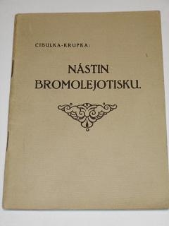 Nástin bromolejotisku - Cibulka, Krupka - 1927