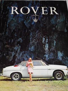 Rover 3.5 Litre Saloon V8, Rover 3.5 Litre Coupé, Rover 2000 SC, TC, SC Automatic - prospekt - 1966