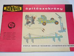 Jáva - épitöszekrény - 1967