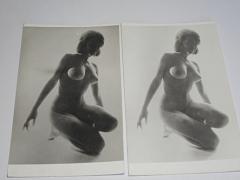 Akt - žena - 2 fotografie
