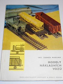 Modely nákladních vozů - Zdeněk Maruna - 1971