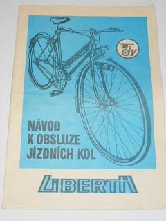 Liberta - návod k obsluze jízdních kol