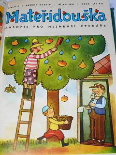 Mateřídouška - 1981 - 1982 - časopis pro nejmenší čtenáře
