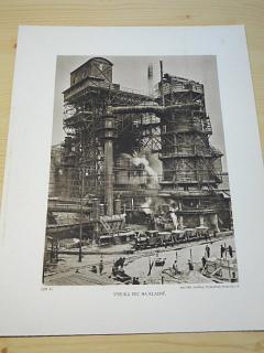 Vysoká pec na Kladně - fotografie - tisk