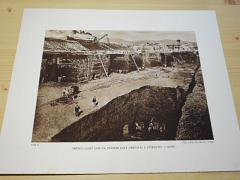 Hnědouhelný lom na státním dole Hedvika v Ervěnicích u Mostu - fotografie - tisk