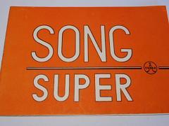 Tesla - Song Super 2827 B-4 - návod na obsluhu