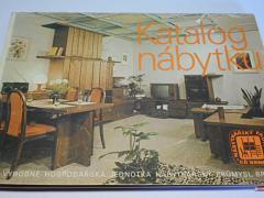 Katalog nábytku - VHJ Nábytkářský průmysl Brno - 1985