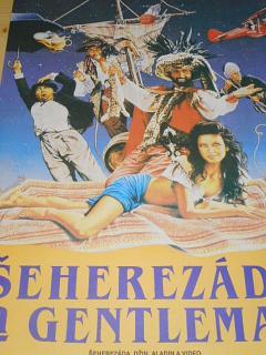 Šeherezáda a gentleman - filmový plakát - 1990