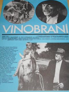 Vinobraní - filmový plakát - 1982