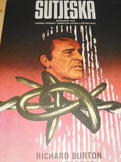 Sutjeska - filmový plakát - 1984