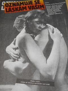 Oznamuje se láskám vašim - filmový plakát - 1988