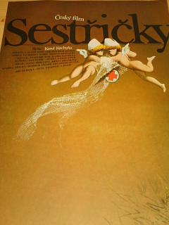Sestřičky - filmový plakát - 1984