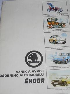 Vznik a vývoj osobního automobilu Škoda - Vladimír Bidlo
