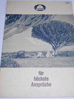 WICO für höchste Ansprüche - 1956 - prospekt - Jean Frey a Co. Zürich