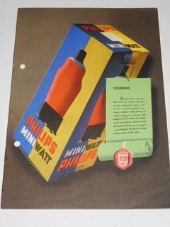 Philips Miniwatt - elektronky - prospekt - 1940