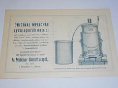 Melichar - original Melichar rychlopařák na píci, mačkadlo na brambory - prospekt